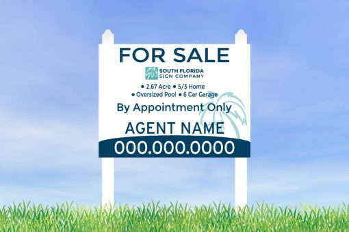 3x4 Commercial Sign