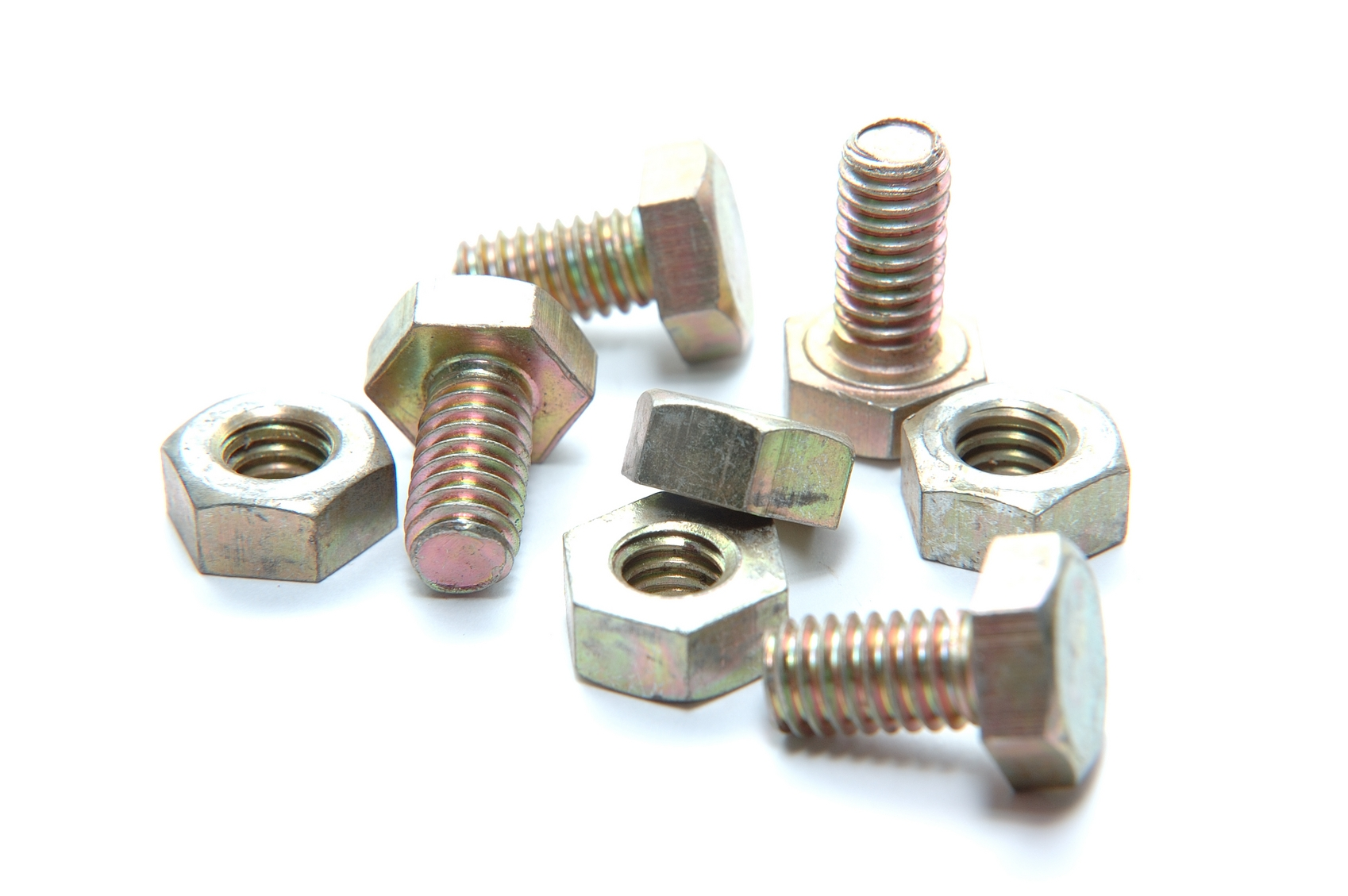Copper Nuts And Bolts >> South Florida Sign Company 12 Count Nuts And Bolts Set 24 Pieces