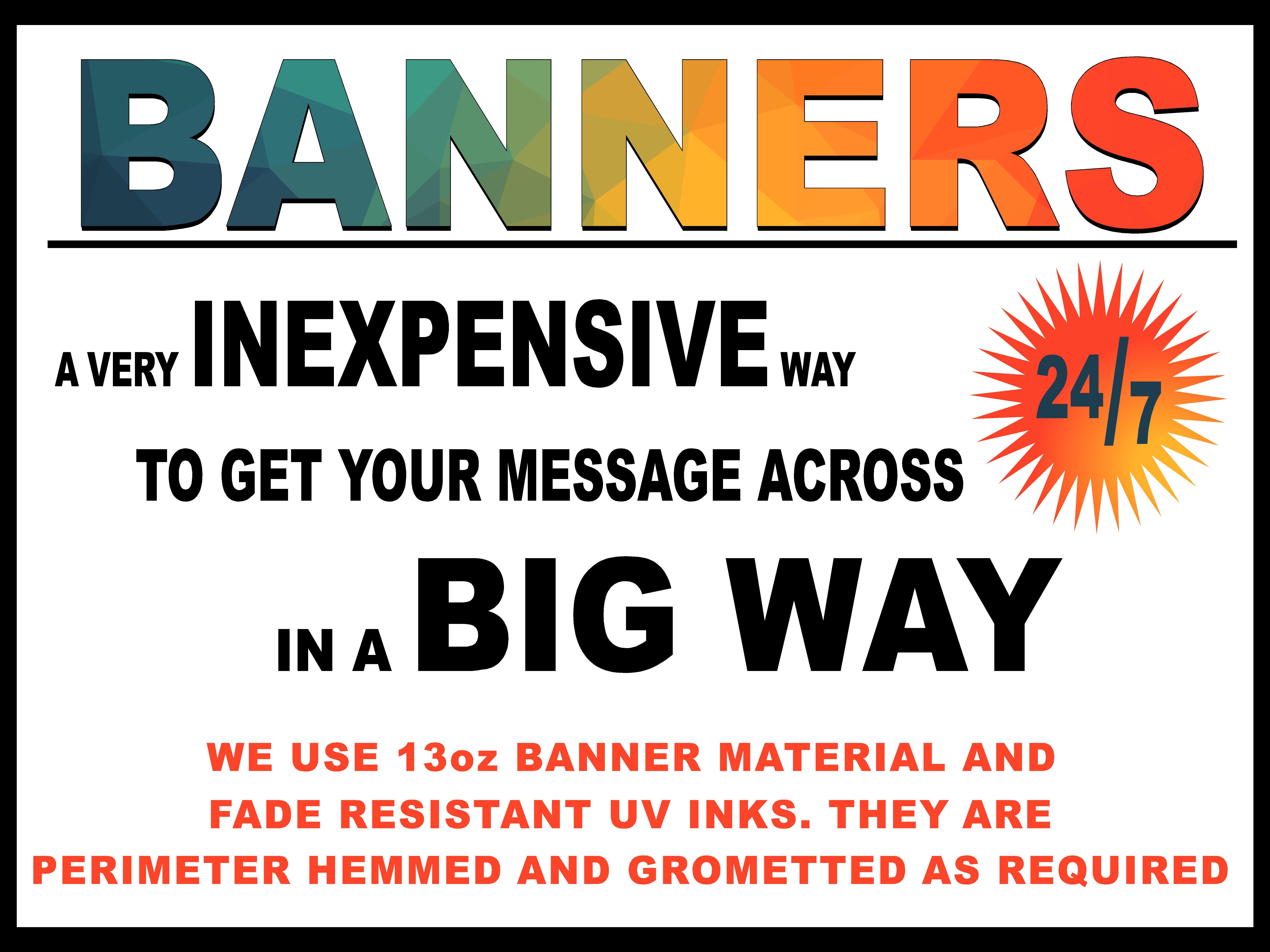 3x4 Banner